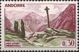 Andorre (PF) Poste N** (Yv:159 Mi:169) Yv:0,8 Euro Croix Gothique Meritxell - Ongebruikt