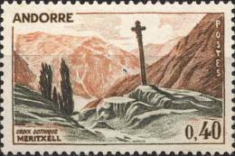 Andorre (PF) Poste N** (Yv:159A Mi:191) Yv:1 Euro Croix Gothique Meritxell - Ongebruikt