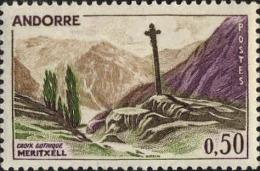 Andorre (PF) Poste N** (Yv:161 Mi 171) Yv 2 Euro Croix Gothique Meritxell - Ongebruikt