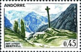 Andorre (PF) Poste N** (Yv:204 Mi 224) Yv:1 Euro Croix Gothique Meritxell - Ongebruikt