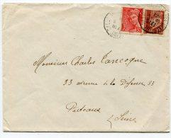 LOT ET GARONNE De VILLENEUVE SUR LOT Env. Du 16/05/194 - Postmark Collection (Covers)