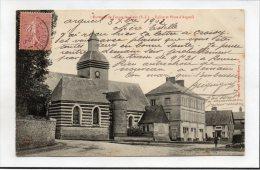 FORGES-les-EAUX - Eglise Et Place D´ARGUEIL (1903) // CPA Dos Simple - Altri Comuni