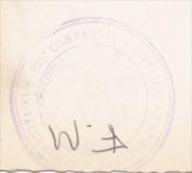 Cachet Triple Couronne - 731e Compagnie Ravitaillement Essence - Circulé 1945 Sur CP, Monastère Grande Chartreuse - WW II