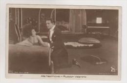 Alla Nazimowa & Rudolph Valentino .Ross Edition Nr.831/1 - Acteurs
