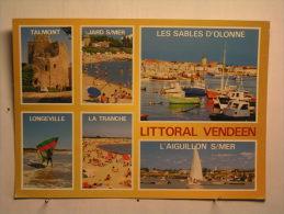 La Côte Vendéenne - Talmont - Jard Sur Mer - Longeville - La Tranche - L'aiguillon Sur Mer - Les SCables D'Olonne - France