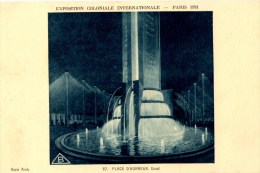 PARIS  Exposition Coloniale 1931 Place D Honneur   Carte En Très  Bon état - Exposiciones