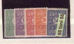 Bulgaria / Bulgarie 1915 POSTAGE DUE / Portomarken/ Timbres-taxe (edition – I ) 5v.-MNH - 1909-45 Kingdom