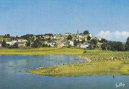 Cp , 63 , LA TOUR-d'AUVERGNE , Le Plan D'eau , La Baignade - Other Municipalities