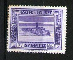 ITALY-iTALIA-SOMALIA 1932 PITTORICA MH - Non Classificati