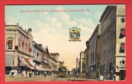 CPA: USA - Jacksonville (FL) - Bay Street From Laura, Looking East - Jacksonville