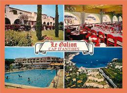 06 - CAP D' ANTIBES - La Garoupe Résidence '' Le Galion '' Multivues // CPM - Antibes
