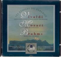 CD LES ETOILES DU PARADOU. VIVALDI. MOZART. BRAHMS. Parrainage Du CCF - Klassik
