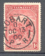 Tasmania Australia Australien 1899 - Michel Nr. 62 O - Gebraucht