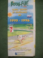 Carte Itinéraires BISON FUTE 95/96 - Transports