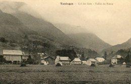CPA -TANINGES (74) - Un Coin Du  Village , Le Col Des Gets - La Vallée Du Foron - Taninges