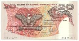 Papua New Guinea 20 Kina 1988 UNC - Papua New Guinea