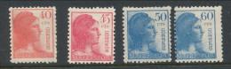 Spain 1938 Edifil # 751-754. Alegoria De La Republica,  MNH (**) - 1931-50 Ungebraucht