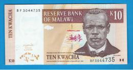 MALAWI -  10 Kwacha  2004 SC  P-49 - Malawi