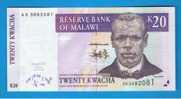 MALAWI -  20 Kwacha  2004 SC  P-50 - Malawi