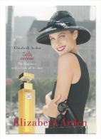 Carte Publicité - Elisabeth ARDEN - 5th Avenue (Parfum) Scan Recto / Verso - Advertising