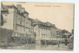 BAGNOLS LES BAINS : Les Hôtels. 2 Scans. Edition Planchon - France