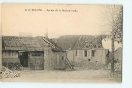 Saint Gilles : Ruines De La Maison Paille (Café Restaurant, épicerie). 2 Scans. - France