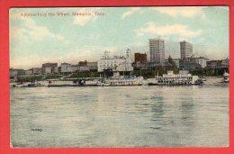 CPA: USA - Memphis (TN) - Approaching The Wharf - Memphis