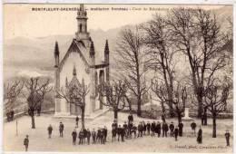 MONTFLEURY - GRENOBLE - Institution Rondeau - Cour De Récréation Gde Division   (61542) - France