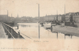 Cpa/pk 1908 Roulers Le Port De Brauwer- Stock - Roeselare