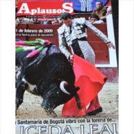 Aplausos, Semanario Taurino (Hebdomadaire Des Corridas, Valencia, Espagne) N° 1637 : La Santamaria De Bogota Vibro Con L - Revues & Journaux