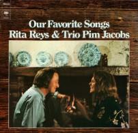 * LP *  RITA REYS & TRIO PIM JACOBS - OUR FAVORITE SONGS (Holland 1973 EX-!!!) - Jazz