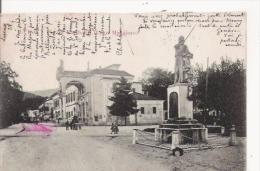 LUINO PIAZZA GARIBALDI  (LAGO MAGGIORE)  1903 - Luino