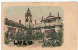 FLORIDA : The Court In The Ponce De Leon (precurseur ) - St Augustine