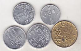 Moldova - 5 Coins Set - Moldavie