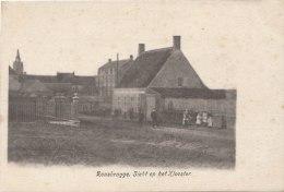 Cpa/pk 1905 Rousbrugge Zicht Op Het Klooster - Ieper