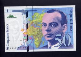 50F SAINT-EXUPERY  1997   NEUF   45 MILLIONS  LETTRE  E - 1992-2000 Dernière Gamme