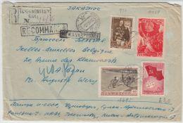 13363 Recommandé Tchernovitsy à Ixelles (Bruxelles) 02/07/1955 - 1923-1991 URSS