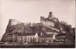 Trenčín , železnica , Eisenbahn - Slowakei