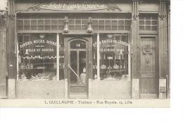 LILLE - L. GUILLLAUME - TRAITEUR - 14 RUE ROYALE - Lille