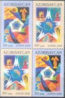 AZ 2006-638-9AD EUROPA CEPT, ASERBEDIAN, 4v, MNH - Azerbaïdjan