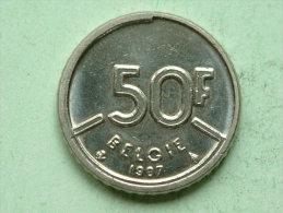 1987 VL - 50 FRANK / Morin 821 ( For Grade, Please See Photo ) !! - 08. 50 Francs
