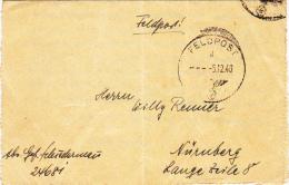 Feldpost WW2: Stab Beobachtungs-Abteilung 23 FP 24681 Dtd 5.12.1940 - Letter Inside  (G44-1KC) - Militaria