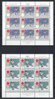 YUGOSLAVIA 1972 - Yvert #1331/32 Minipliegos - MNH ** - Hojas Y Bloques
