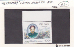 Vietnam 1999 150 Years Of Tran XU Stamp MNH - Vietnam