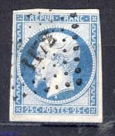 ++ -80% Sur N°10 OBLITERE CHARNIERE   SCAN RECTO-VERSO CONTRACTUEL - 1852 Luigi-Napoleone