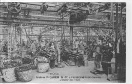 CPA Fressenneville, Usines Riquier, Atelier Des Tours - Non Classés