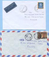1995/9 NATALE L. 850 E ALIMENTAZIONE L. 900 (SASS. 2175, 2349) ANGOLI INF. DX ARROTONDATI ISOLATI…VEDI DESCRIZIONE (5800 - 6. 1946-.. Repubblica