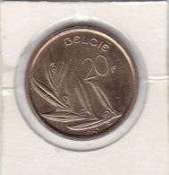 20 FRANcs Nickel-bronze Baudouin I 1980 FL Qualité++++++++++++++++++ + - 1951-1993: Baudouin I