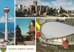 Canada Multi View Calgary Alberta