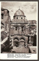 2163. Israel, Jerusalem - Front Side Of The Holy Sepulchre, Postcard - Israel